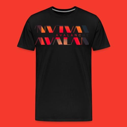 Avalanche horizon - Men's Premium T-Shirt