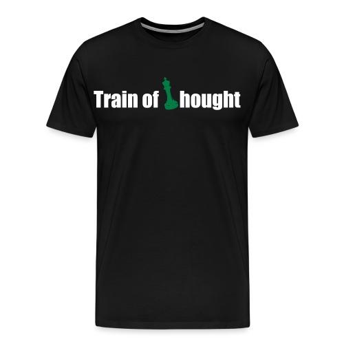 Train of Thought - Men's Premium T-Shirt