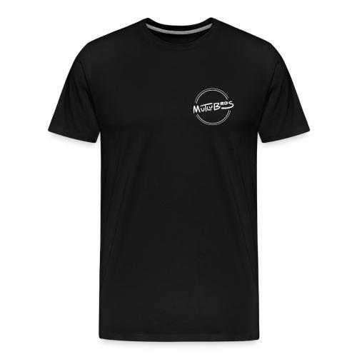 Classic Mutlu Bros White - Men's Premium T-Shirt