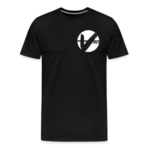 White YT Logo png - Men's Premium T-Shirt