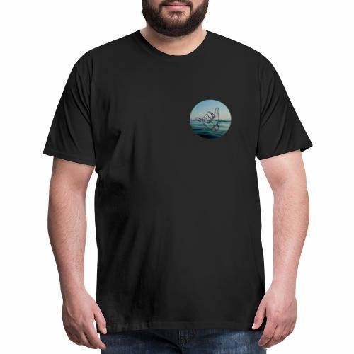 Swell Surfer - Men's Premium T-Shirt