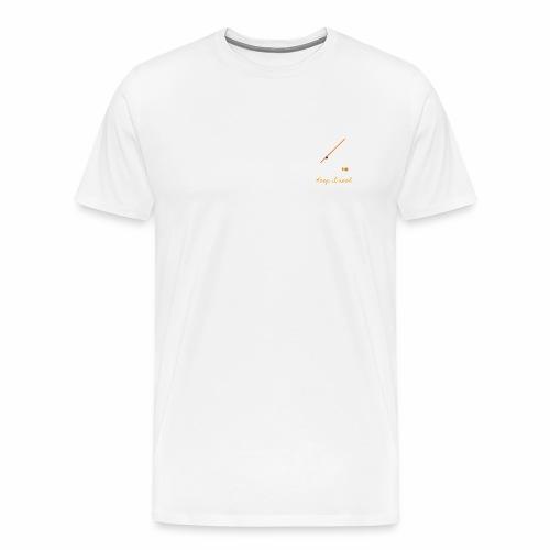 Keep it Reel (Orange) - Men's Premium T-Shirt