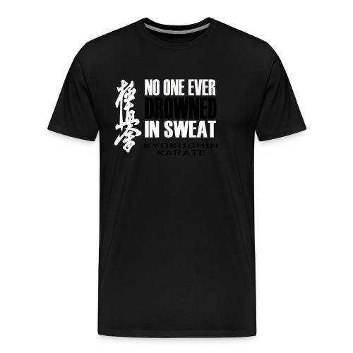 No One Ever - Black&White - Men's Premium T-Shirt