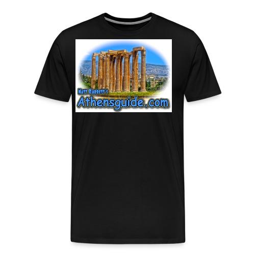 athenshguide temple zeus jpg - Men's Premium T-Shirt