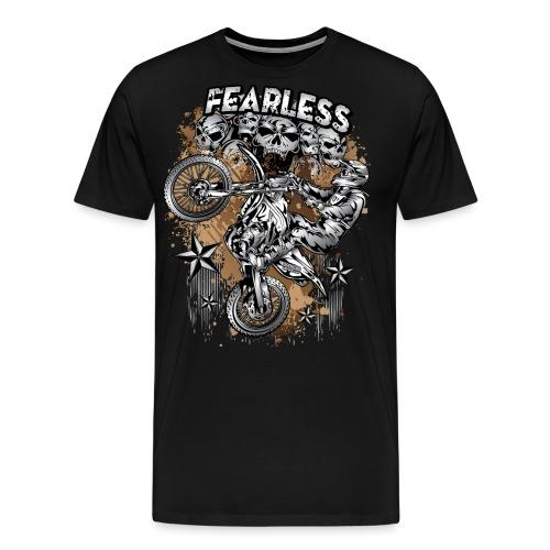 Fearless Motocross - Men's Premium T-Shirt