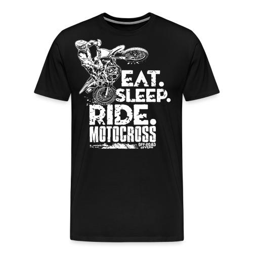 Dirt Bike Eat Sleep Ride - Men's Premium T-Shirt
