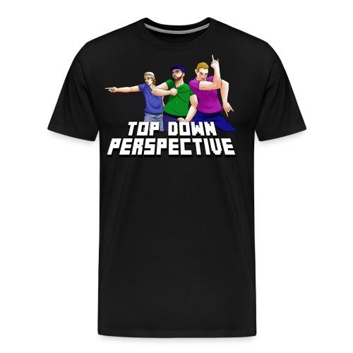 tdp texttrans png - Men's Premium T-Shirt