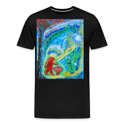 The Initiation, art by Jason Gallant - Men's Premium T-Shirt