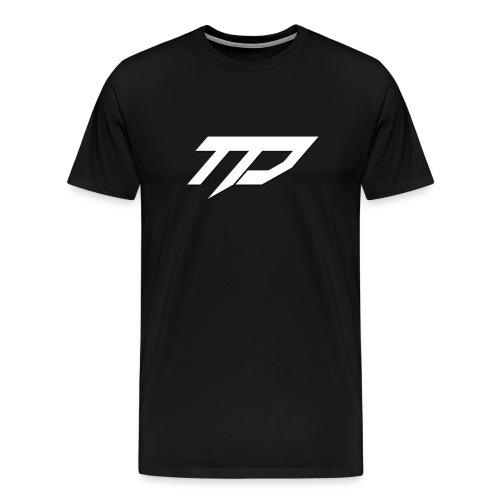 Standard TD T-Shirt Black - Men's Premium T-Shirt