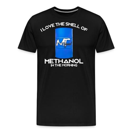 smell of methanol - Men's Premium T-Shirt