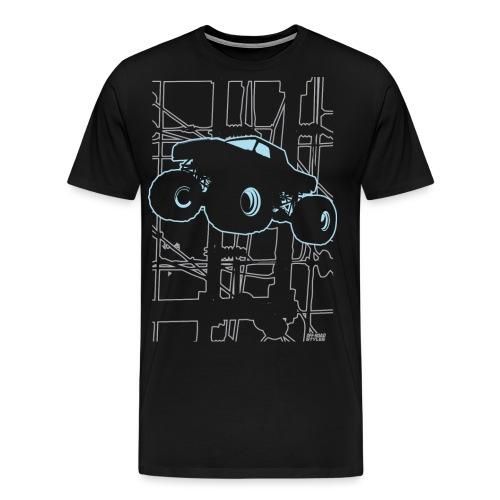 Monster Truck Electronica - Men's Premium T-Shirt