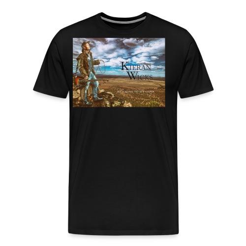 Sticking to My Guns by Kieran Wicks Album Cover - Men's Premium T-Shirt