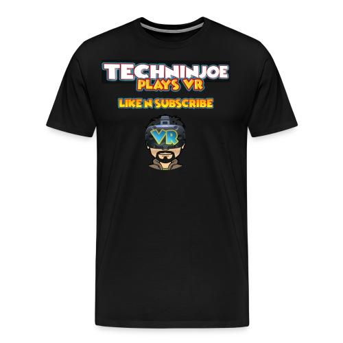 techninjoe Logo T-Shirt - Men's Premium T-Shirt