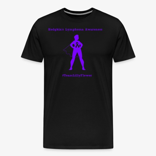 Hodgkin's Lymphoma Awareness - Men's Premium T-Shirt
