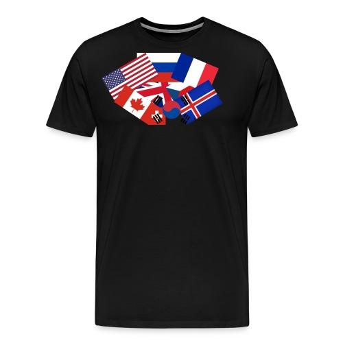 Super flag - Men's Premium T-Shirt
