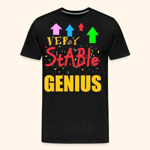very stable genius - Men's Premium T-Shirt