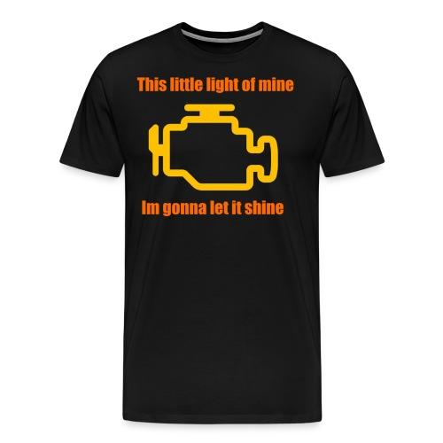 check engine light - Men's Premium T-Shirt
