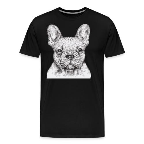 French Bulldog - Men's Premium T-Shirt