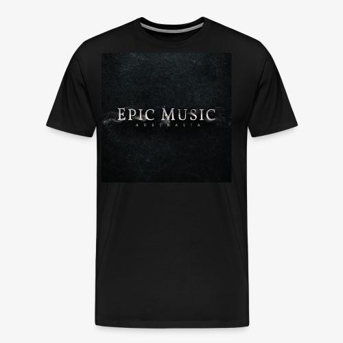 Epic Music Australia Logo - Men's Premium T-Shirt