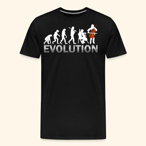 Cello Evolution - Men's Premium T-Shirt