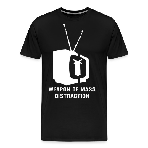 weapon of mass distraction - Men's Premium T-Shirt