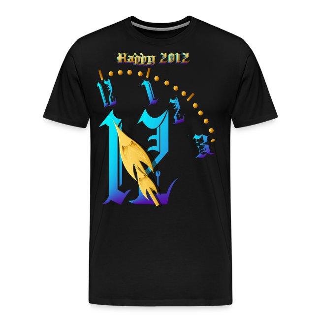 Happy 2012-Clock Striking 12:NM