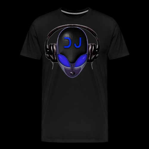 Alien Wicked DJ - Blue - Hard Shell Bug Design - Men's Premium T-Shirt