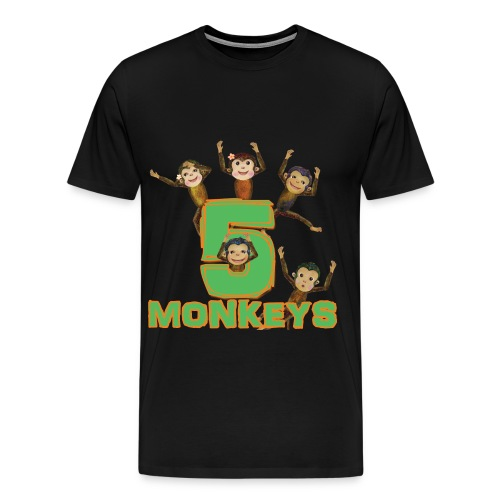 5 Monkeys - Men's Premium T-Shirt