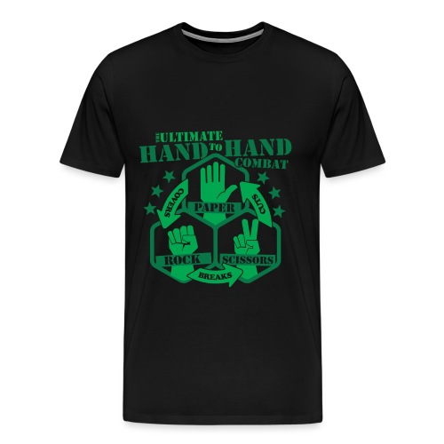 Hand to Hand Combat - Men's Premium T-Shirt