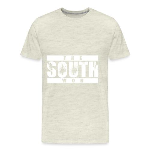 The South Won White - Men's Premium T-Shirt