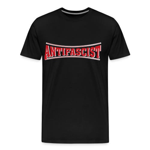 antifascist lonsdale 1 - Men's Premium T-Shirt