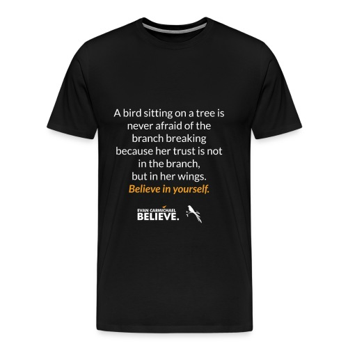 #BelieveBird - Men's Premium T-Shirt