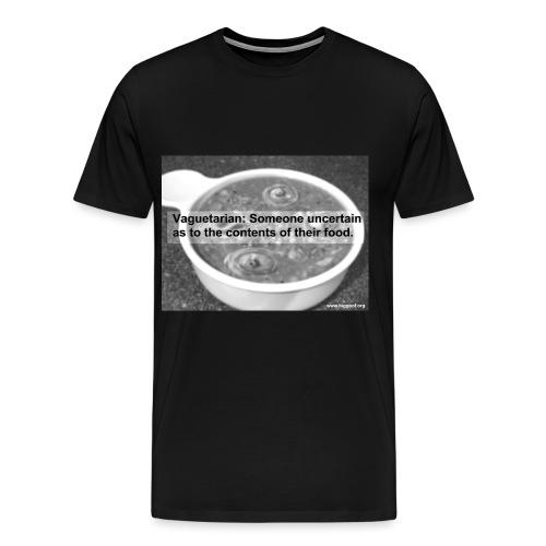 FicPic Vaguetarian - Men's Premium T-Shirt