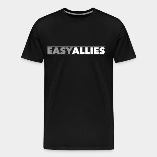 Easy Allies Gray Logo - Men's Premium T-Shirt