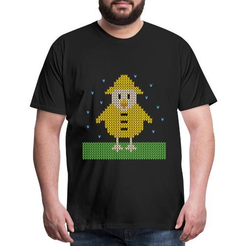 rain slicker chicken - Men's Premium T-Shirt