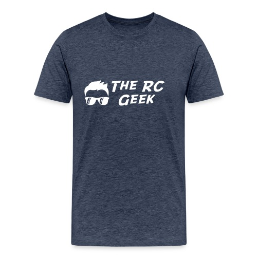 TRCG Logo-2 white - Men's Premium T-Shirt