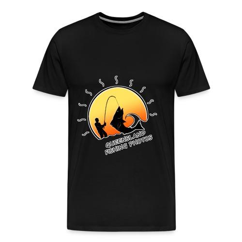 qld fishing logo - Men's Premium T-Shirt