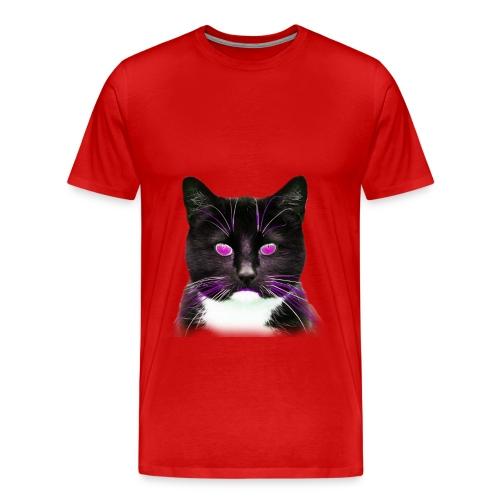 Cool Cat Magenta - Men's Premium T-Shirt