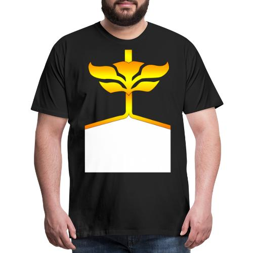 megaforce black and yellow png - Men's Premium T-Shirt