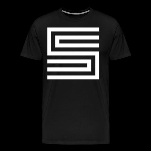 Silva Hound Logo - Men's Premium T-Shirt