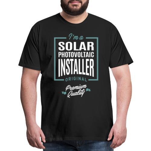 Solar Photovoltaic Installer - Men's Premium T-Shirt