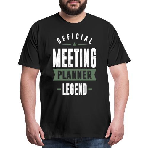 Meeting Planner Legend - Men's Premium T-Shirt