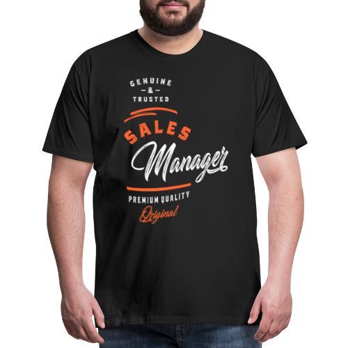 Sales Manager - Men's Premium T-Shirt