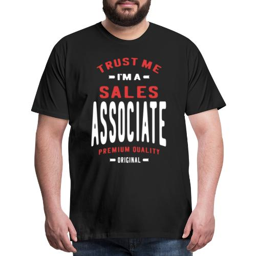 Sales Associate - Men's Premium T-Shirt