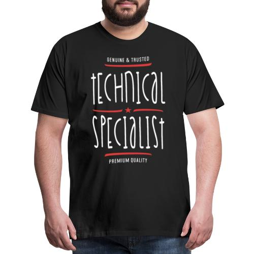 Technical Specialist - Men's Premium T-Shirt