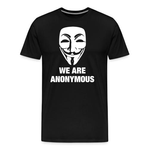 we are anonymous - Men's Premium T-Shirt