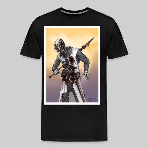 Zombie Crusader - Men's Premium T-Shirt
