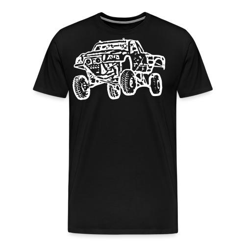 Jump Truck White - Men's Premium T-Shirt