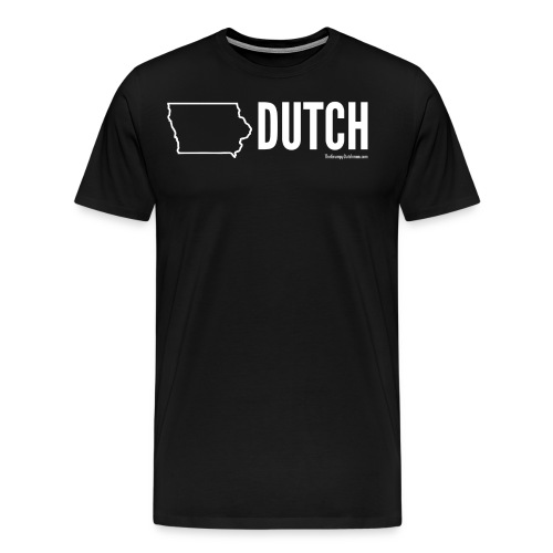 Iowa Dutch (white) - Men's Premium T-Shirt
