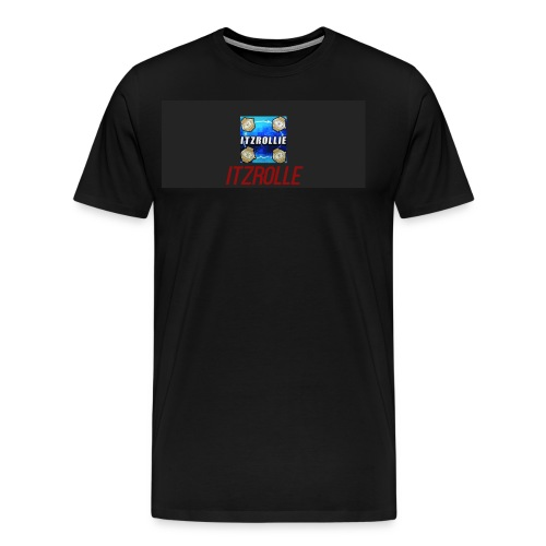 ItzRollie black, blue, and red. - Men's Premium T-Shirt